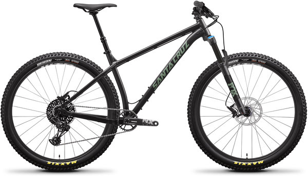 Santa Cruz Chameleon Aluminum R+ Color: Black