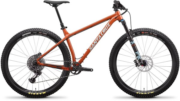 Santa Cruz Chameleon Aluminum S+ Color: Orange