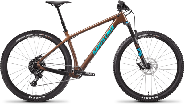 Santa Cruz Chameleon Carbon C R Color: Bronze and Blue