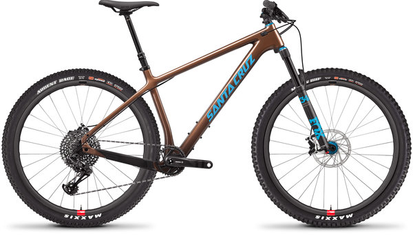 Santa Cruz Chameleon Carbon C SE Reserve Color: Bronze and Blue