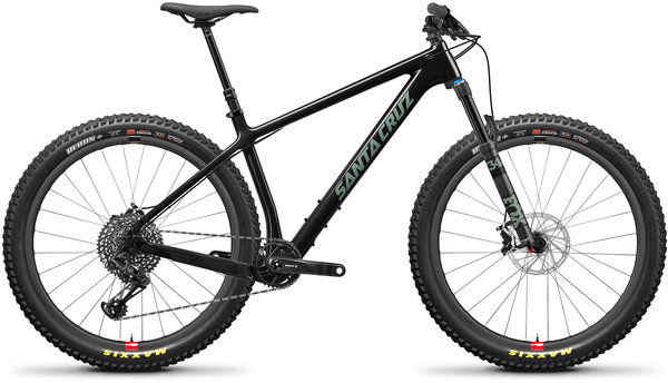 Santa Cruz Chameleon Carbon C SE+ Reserve Color: Gloss Carbon and Green