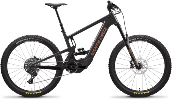 Santa Cruz Heckler 1.0 CC R Color: Blackout and Copper