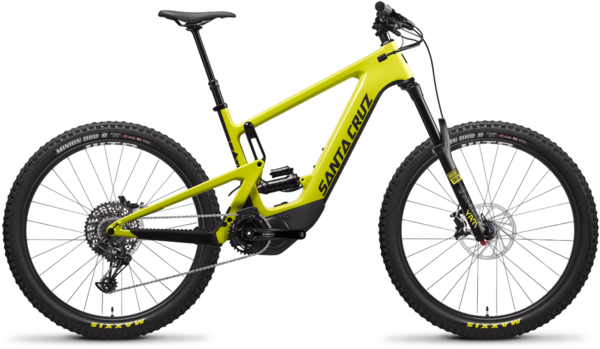 Santa Cruz Heckler 1.0 CC R Color: Yellowjacket and Black