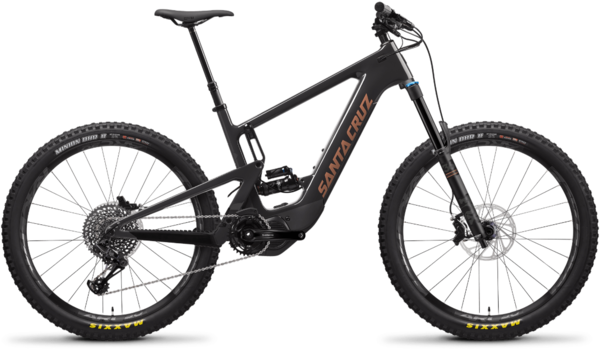 Santa Cruz Heckler 1.0 CC S Color: Blackout and Copper
