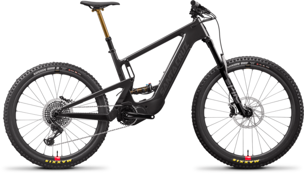 Santa Cruz Heckler 8.1 CC MX X01 RSV Color: Gloss Carbon and Black