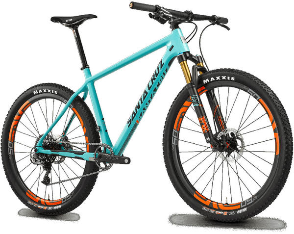 Santa Cruz Highball 27.5 CC Color: Aqua Blue/Gloss Black