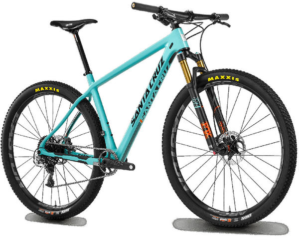 Santa Cruz Highball 29 CC Color: Aqua Blue/Gloss Black
