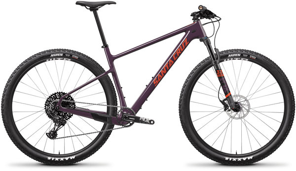 Santa Cruz Highball Carbon C R Color: Eggplant and Sunset