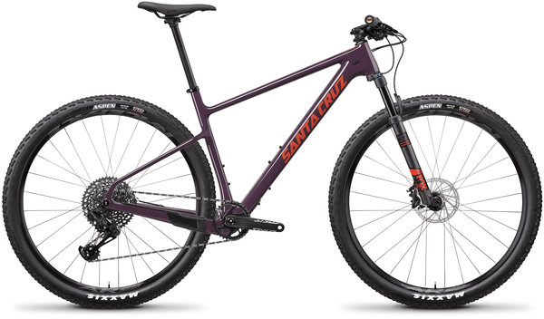 Santa Cruz Highball Carbon C S Color: Eggplant and Sunset