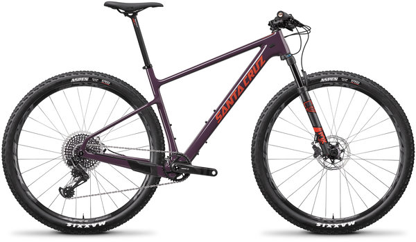 Santa Cruz Highball Carbon CC X01 Color: Eggplant and Sunset
