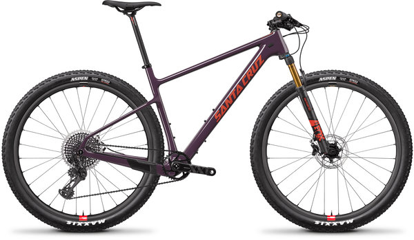 Santa Cruz Highball Carbon CC XX1 Reserve Color: Eggplant and Sunset