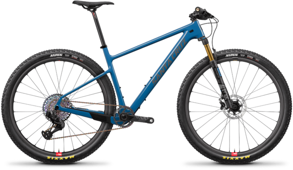 Santa Cruz Highball Carbon CC XX1 AXS Reserve Color: Blue