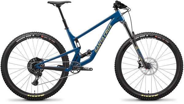 Santa Cruz Hightower A R Color: Highland Blue and Desert