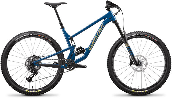 Santa Cruz Hightower C R Color: Highland Blue and Desert