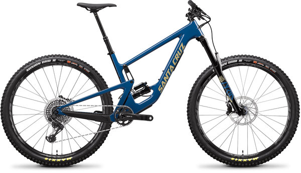 Santa Cruz Hightower Carbon CC XO1 Color: Highland Blue and Desert