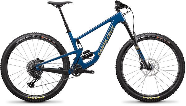 Santa Cruz Hightower C S Color: Highland Blue and Desert