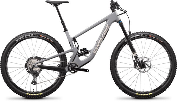 Santa Cruz Hightower C XT Color: Smoke Grey