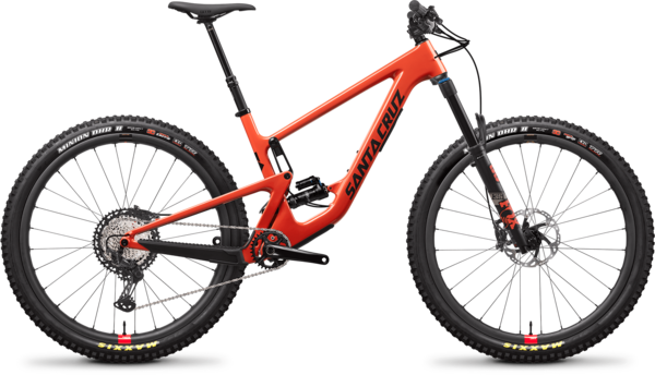 Santa Cruz Hightower C XT Reserve Color: Ember