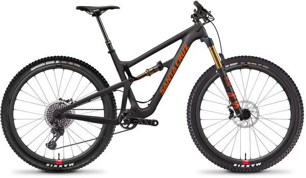 Santa Cruz Hightower Carbon CC XX1 Color: Matte Carbon/Orange
