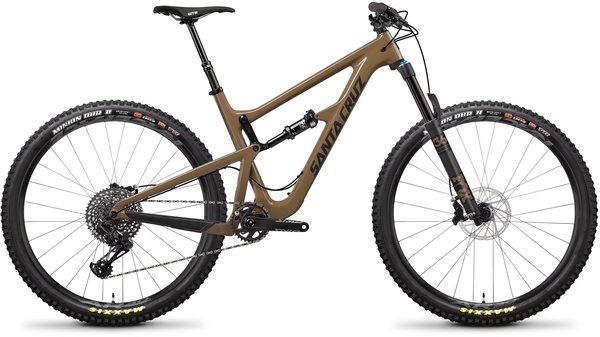 Santa Cruz Hightower LT Carbon C S Color: Clay and Carbon