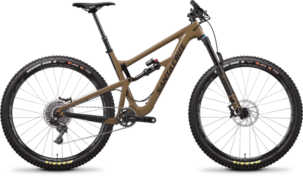 Santa Cruz Hightower LT Carbon CC X01 Color: Clay and Carbon