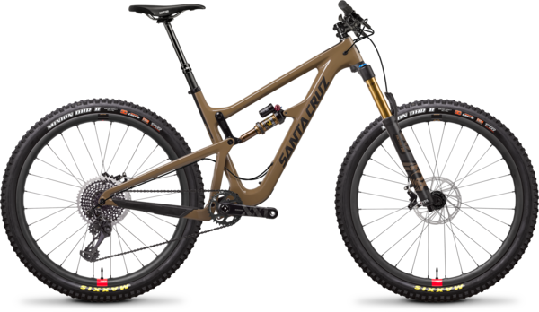 Santa Cruz Hightower LT Carbon CC XX1 Reserve Color: Clay and Carbon