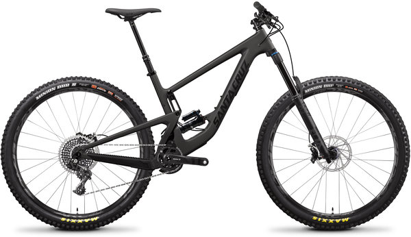 Santa Cruz Megatower 2.0 CC X01 29-inch Reserve Color: Black