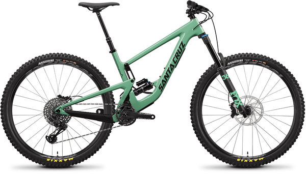 Santa Cruz Megatower Carbon C S FS Green