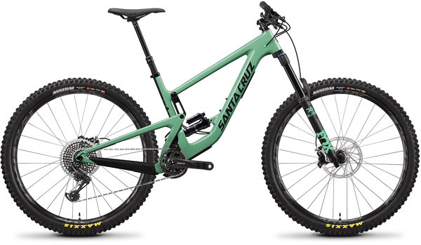 Santa Cruz Megatower Carbon CC X01 FS Green