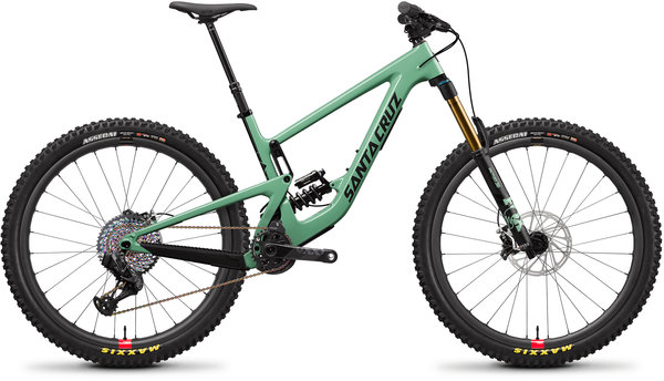 Santa Cruz Megatower Carbon CC XX1 AXS Coil Reserve Color: FS Green