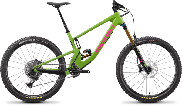 Santa Cruz Nomad 5 CC X01 Color: Adder Green
