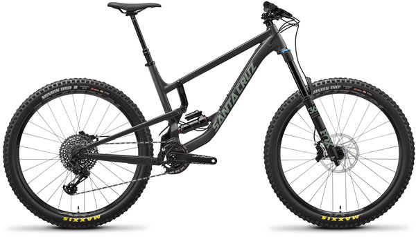 Santa Cruz Nomad Aluminum S Color: Black