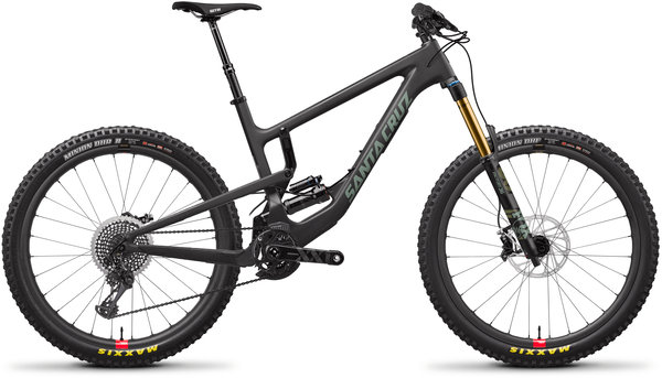 Santa Cruz Nomad Carbon CC XX1 Reserve Color: Carbon and Olive
