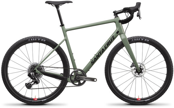 Santa Cruz Stigmata Force AXS 650b Reserve Color: Olive Green
