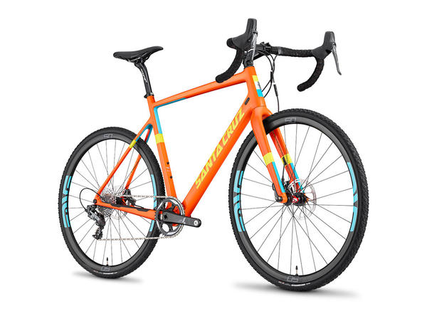 Santa Cruz Stigmata C Color: Gloss Orange/Yellow