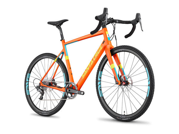 Santa Cruz Stigmata CC Color: Gloss Orange/Yellow