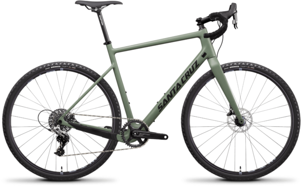 Santa Cruz Stigmata Carbon CC Rival Color: Green