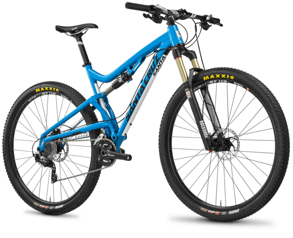 Santa Cruz Superlight Color: Gloss Blue/White