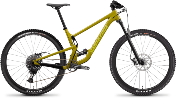 Santa Cruz Tallboy Aluminum D Color: Rocksteady Yellow
