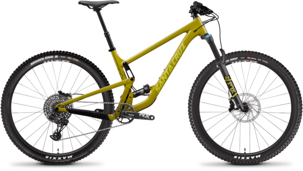 Santa Cruz Tallboy Aluminum R Color: Rocksteady Yellow