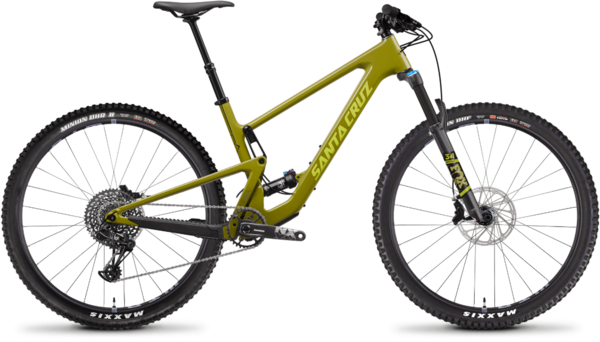 Santa Cruz Tallboy Carbon C R Color: Rocksteady Yellow