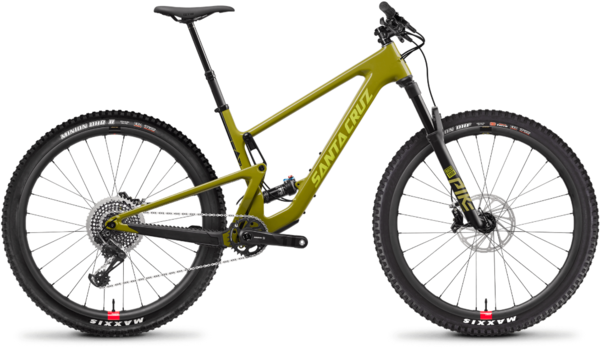 Santa Cruz Tallboy Carbon CC XO1 Reserve Color: Rocksteady Yellow
