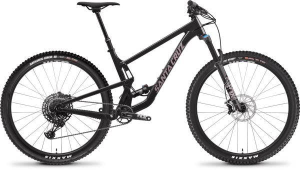 Santa Cruz Tallboy AL R Color: Ebony