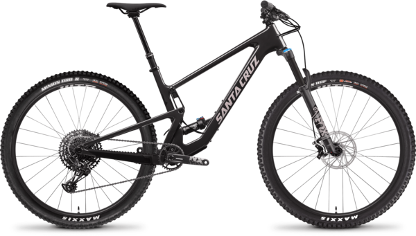 Santa Cruz Tallboy C R Color: Ebony