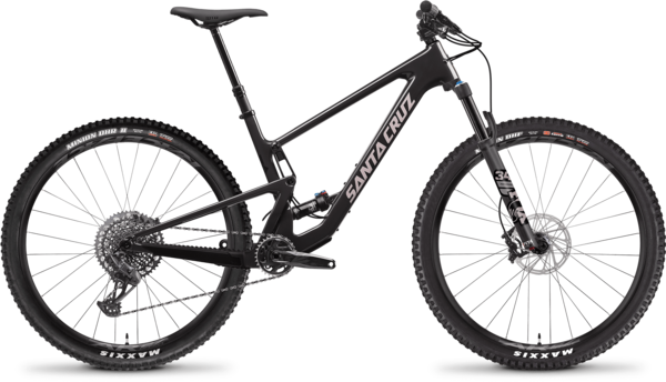 Santa Cruz Tallboy C S Color: Ebony