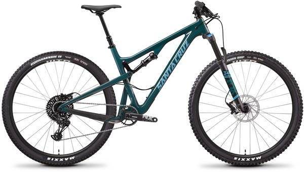 Santa Cruz Tallboy Carbon C R Color: Forest Green/Baby Blue