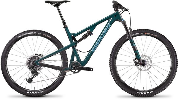 Santa Cruz Tallboy Carbon CC X01 Color: Forest Green/Baby Blue
