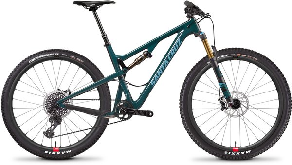 Santa Cruz Tallboy Carbon CC XX1 Color: Forest Green/Baby Blue