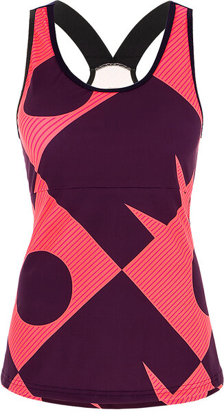Santini Santini Ironman Cupio Women's Triathlon Top Color: Dark Pink/Dark Purple