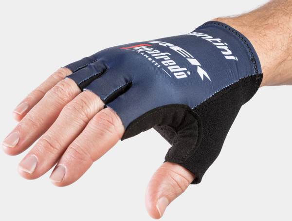 Santini Santini Trek-Segafredo Men's Team Cycling Glove Color: Dark Blue